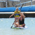 Great place to teach little ones how to paddle board!