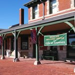 Katy Trail Depot and museum in Sedalia