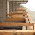 the neighboring decks