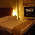 Room 1102 at night
