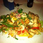 Seafood parilla