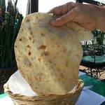 Fresh hand made flour tortillas