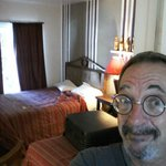 The room, not a bad size, smallish but I slept very well.