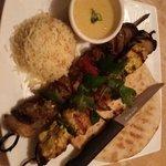 chicken and Lamb Kabob