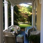 Front porch is a great place to enjoy your morning coffee!