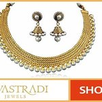 Earrings Necklace Sets by Vastradi Jewels