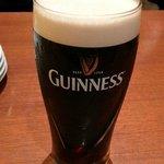 貴重なギネスの生ビール