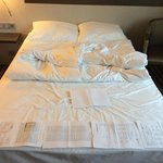двухспальная кровать 135 см.