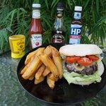 The Embassy Burger....
