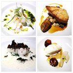Our 4 course tasting menu, perfection