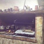 Un detalle de su cocina