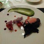 PURPLE DUCK ° Tapioka de choux rouge