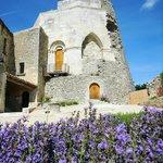 Medieval castle Simiane-la-Rotonde