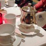 Classy elegant tea.. I had granny's garden tea (rhubarb with bourbon vanilla)