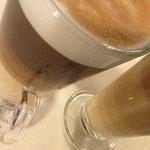 layered latte