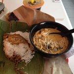 Seafood Laksa and Nasi lemak