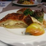 Local Cheese and vegetable pie