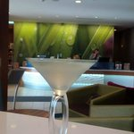 Ginger Leaf Martini…Happy hour at Spring hill suites