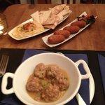 Meatball & Humus