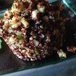 Taboule de quinoa roja y frutos secos