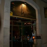 Ingang restaurant