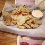 Fried Pickle Chips & Cajun Ranch!