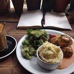My swedish meatballs lunch!! V V V TASTY
