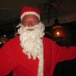 Santa visits in September