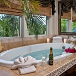 All Jacuzzi fireplace Suites