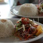 All dishes served with rice.