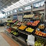 Some stalls at the Mercado da Ribeira