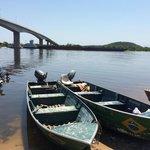 Río Paraná, bajada al río de 4 km para llegar al Hotel