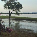 Vista al río Paraná desde el Hotel