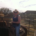 Me on Packer one of the horses at the ranch