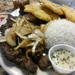 Churrasco steak, it was huge!