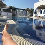 The pool at Villa Valvis
