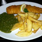 Fish and amazing chips