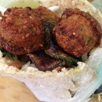 falafelito in whole wheat pita