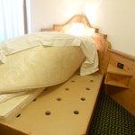Boarded mattress base