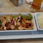 Chicken-Chilli Wok with Rice