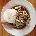 Chicken w/ cashews