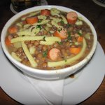 Lentil Soup - Very wholesome.