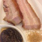 Crispy skin pork belly