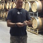 Barrel room and Gianni