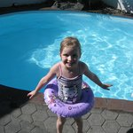 Kids just love our year round heated pool