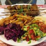 Best Chicken kebab I've tasted in Al Quds