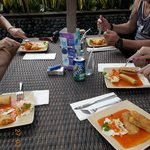 lumpia by the pool