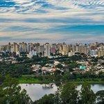 Londrina e o lago igapó