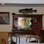 breakfast room complete with Murray Cod