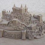 Cascais seen by sand master